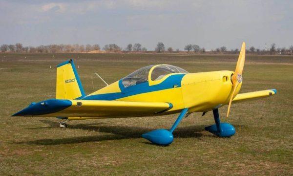 экстремальный полет на самолете RV-6
